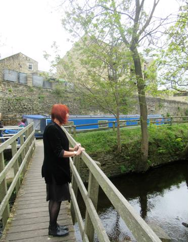 Joy Bowhay pictured by Skipton Canal